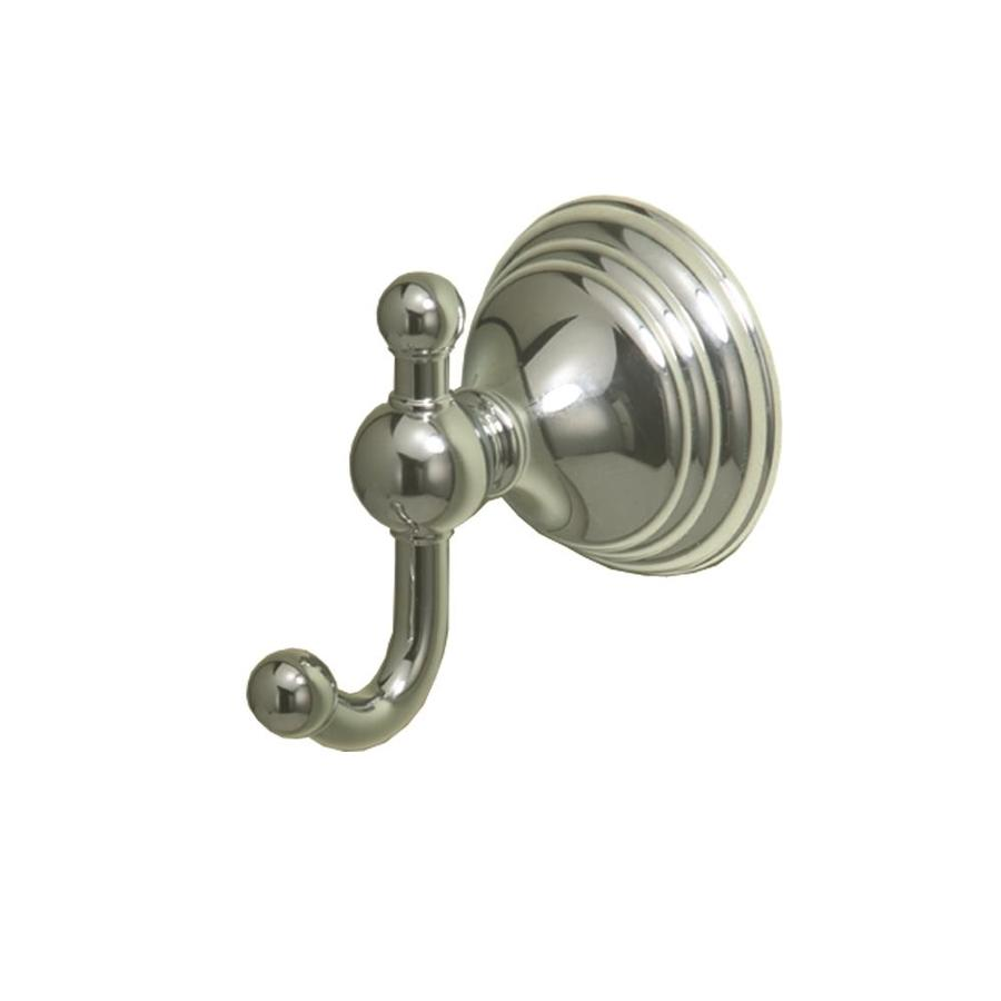Gatco Charlotte 2-Hook Chrome Robe Hook