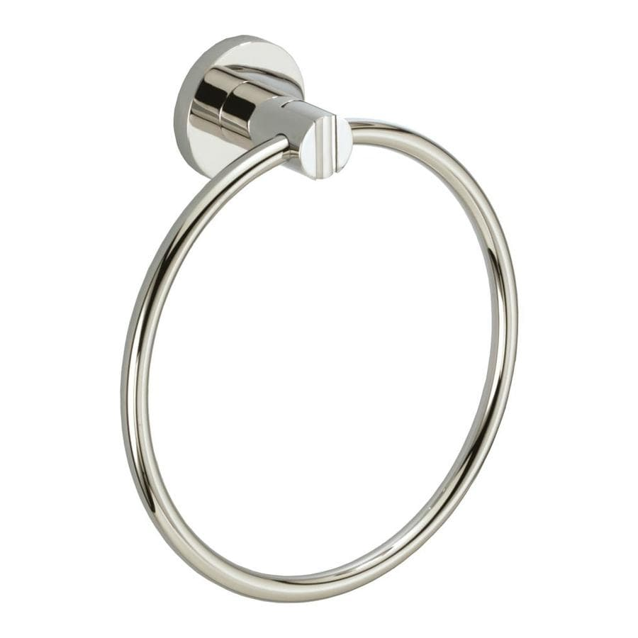 Gatco Channel Chrome Wall Mount Towel Ring