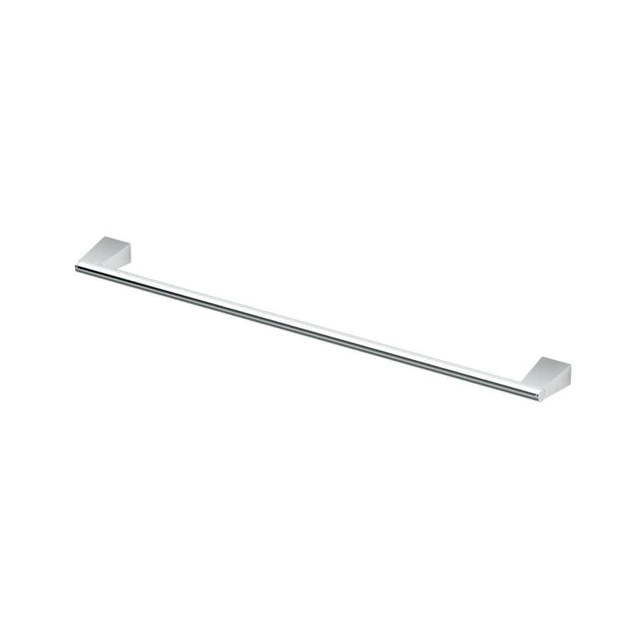 Gatco Bleu Chrome Single Towel Bar (Common: 24-in; Actual: 25.2-in)
