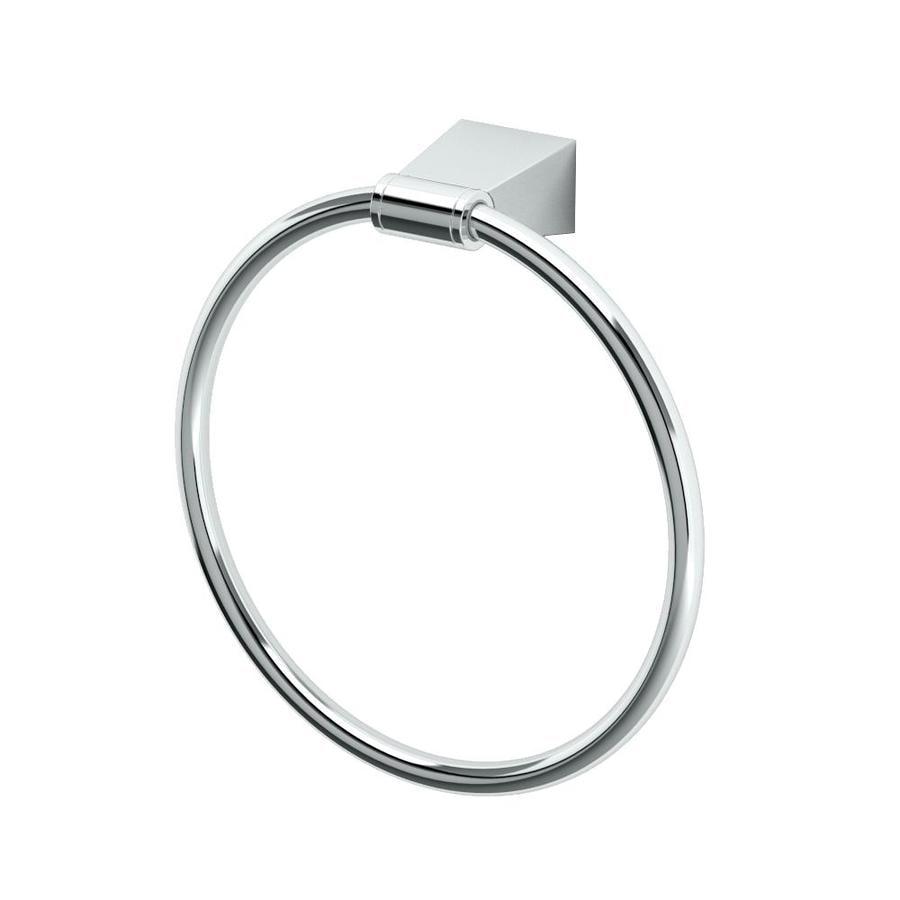Gatco Bleu Chrome Wall Mount Towel Ring