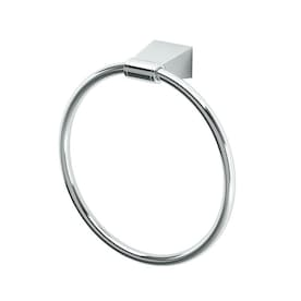 Gatco Bleu Chrome Wall Mount Towel Ring
