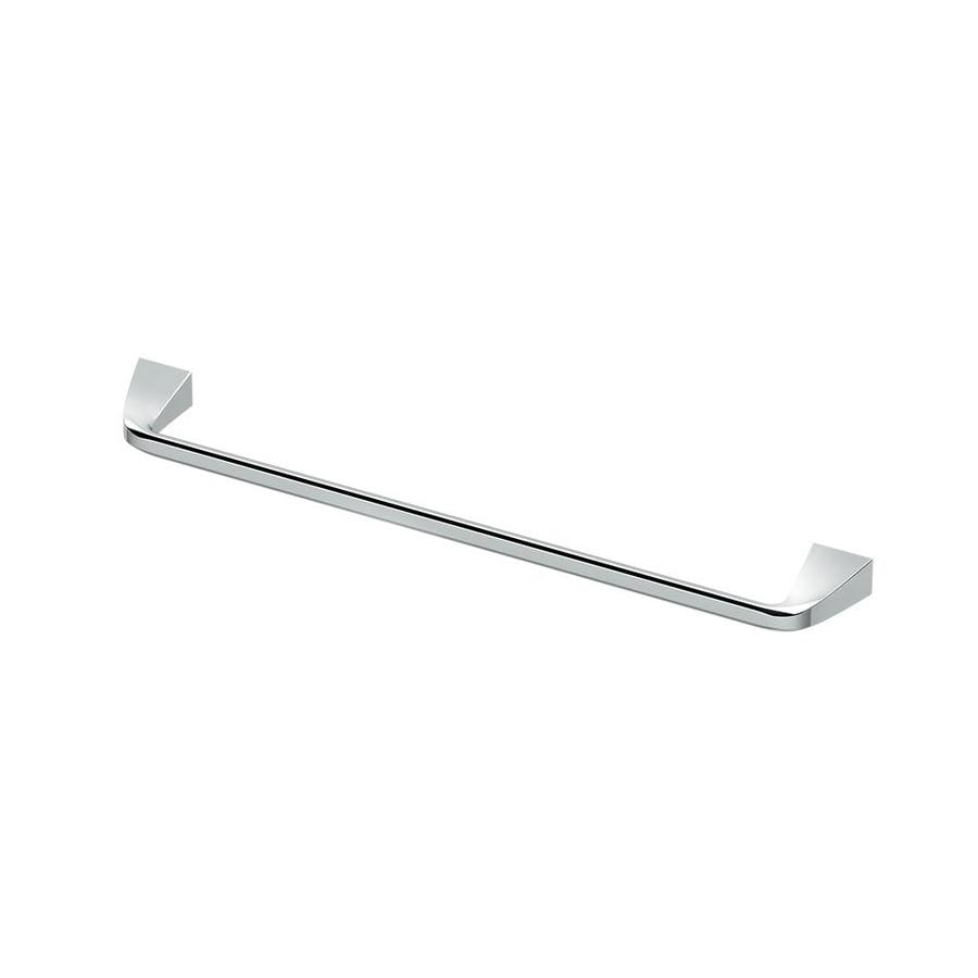 Gatco Quantra 24 In Chrome Wall Mount Single Towel Bar In The Towel Bars Department At Lowes Com