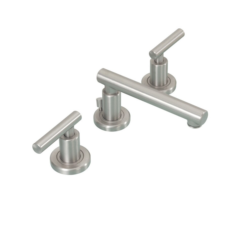 Shop Gatco Latitude II Brushed Nickel 2-Handle Widespread Bathroom ...