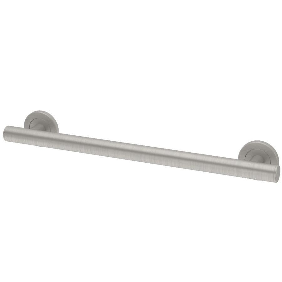 Gatco Latitude 2 36-in Satin Nickel Wall Mount Grab Bar