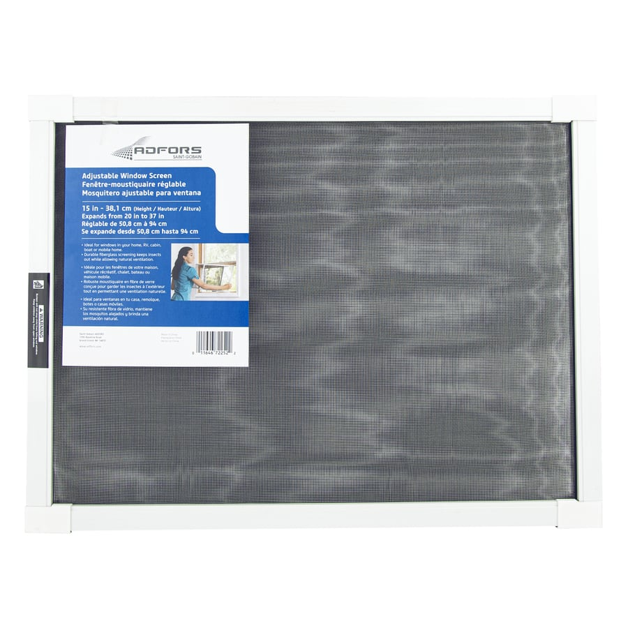 New York Wire Fiberglass 20-in x 15-in Window Screen