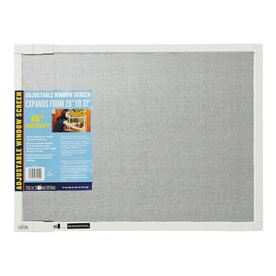 Superbe Saint Gobain ADFORS Adjustable Fiberglass 20 In X 15 In Window Screen