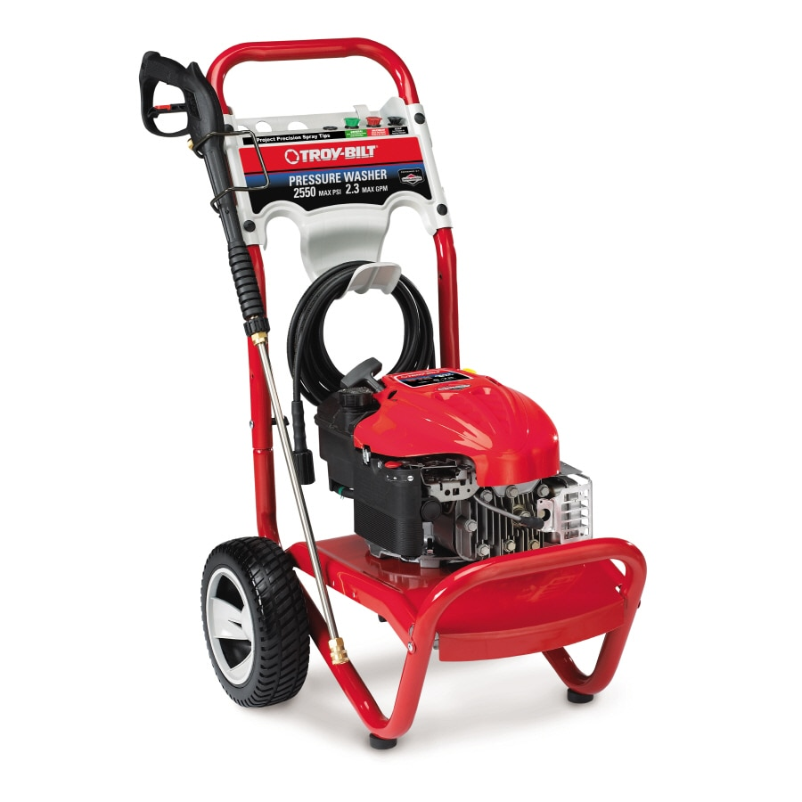 Troy Bilt 2550 Psi 2 3 Gpm Gas Pressure Washer At Lowes Com