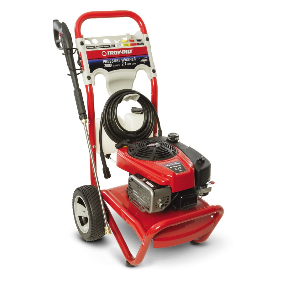 Briggs Amp Stratton 3000 Psi 2 7 Gpm Gas Pressure Washer At