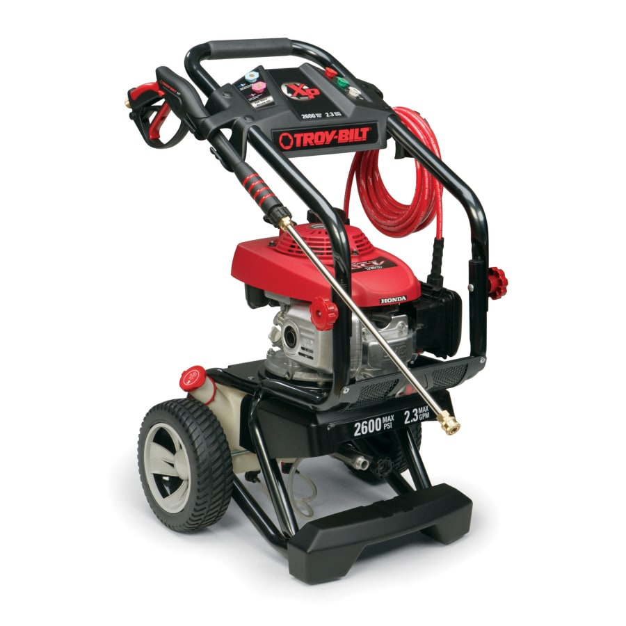 Troy-Bilt 2600-PSI 2.3-GPM Water Gas Pressure Washer