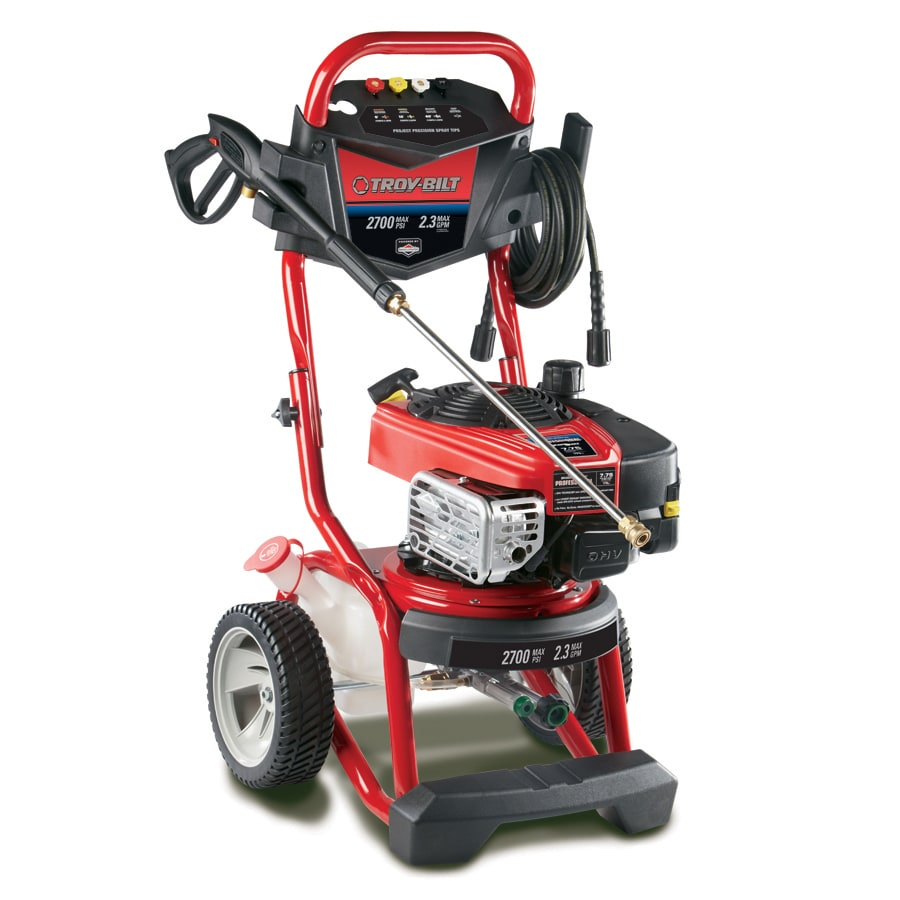 Troy-Bilt 2700-PSI 2.3-GPM Carb Compliant Cold Water Gas Pressure Washer