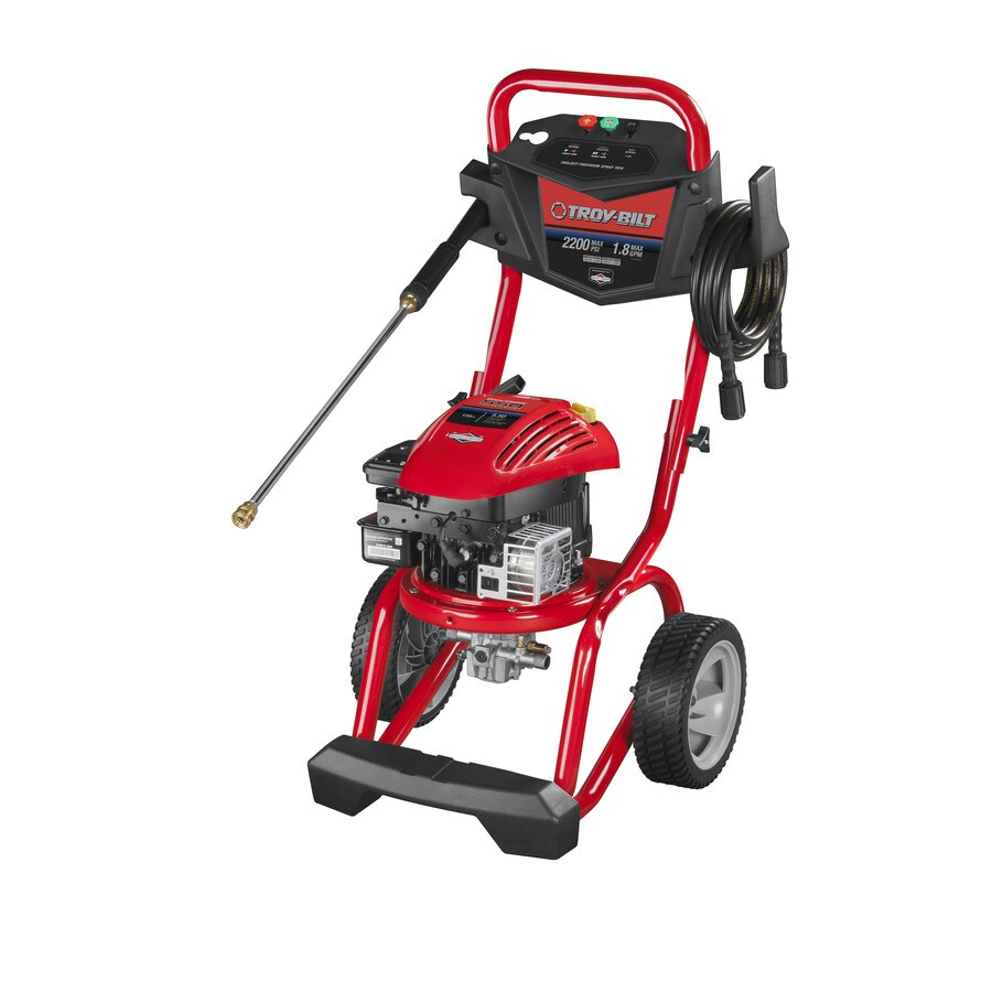 Troy-Bilt 2200 PSI 1.8 GPM Gas Pressure Washer