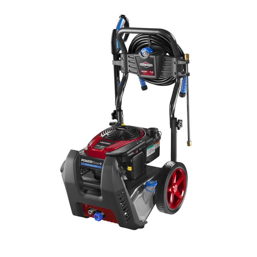 Briggs & Stratton POWERflow+ 3,000-PSI 5-GPM Cold Water Gas Pressure Washer (CARB)