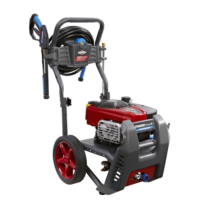 Briggs Stratton Powerflow 3000 Psi 5 Gpm Cold Water Gas Pressure Washer Carb In The Gas Pressure Washers Department At Lowes Com
