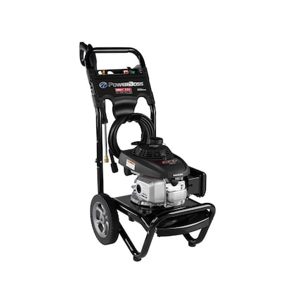 PowerBoss 2800-PSI 2 3-GPM Cold Water Gas Pressure Washer