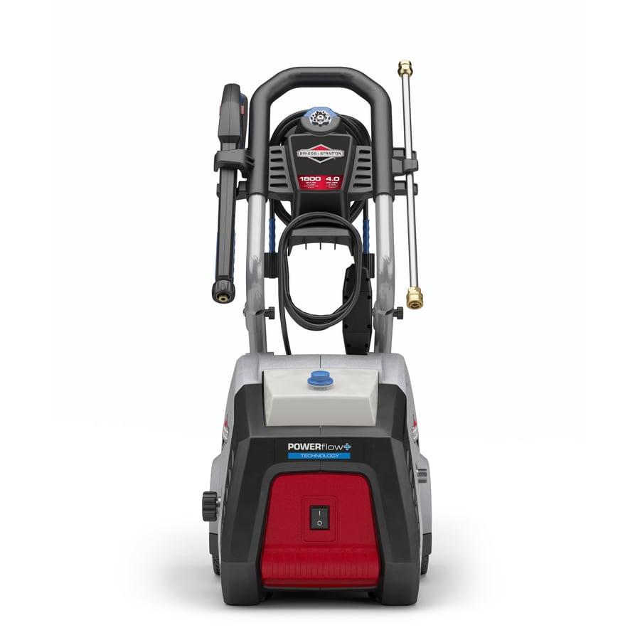 Briggs & Stratton POWERflow+ 1800-PSI 4-Gallon-GPM Cold Water Electric Pressure Washer