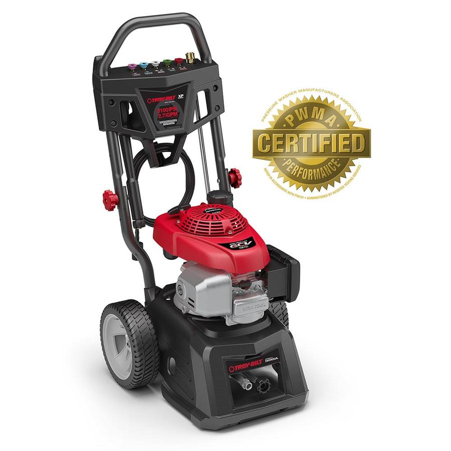 Troy-Bilt 3100-PSI 2.7 Gallons-Gpm Cold Water Gas Pressure Washer Carb Compliant