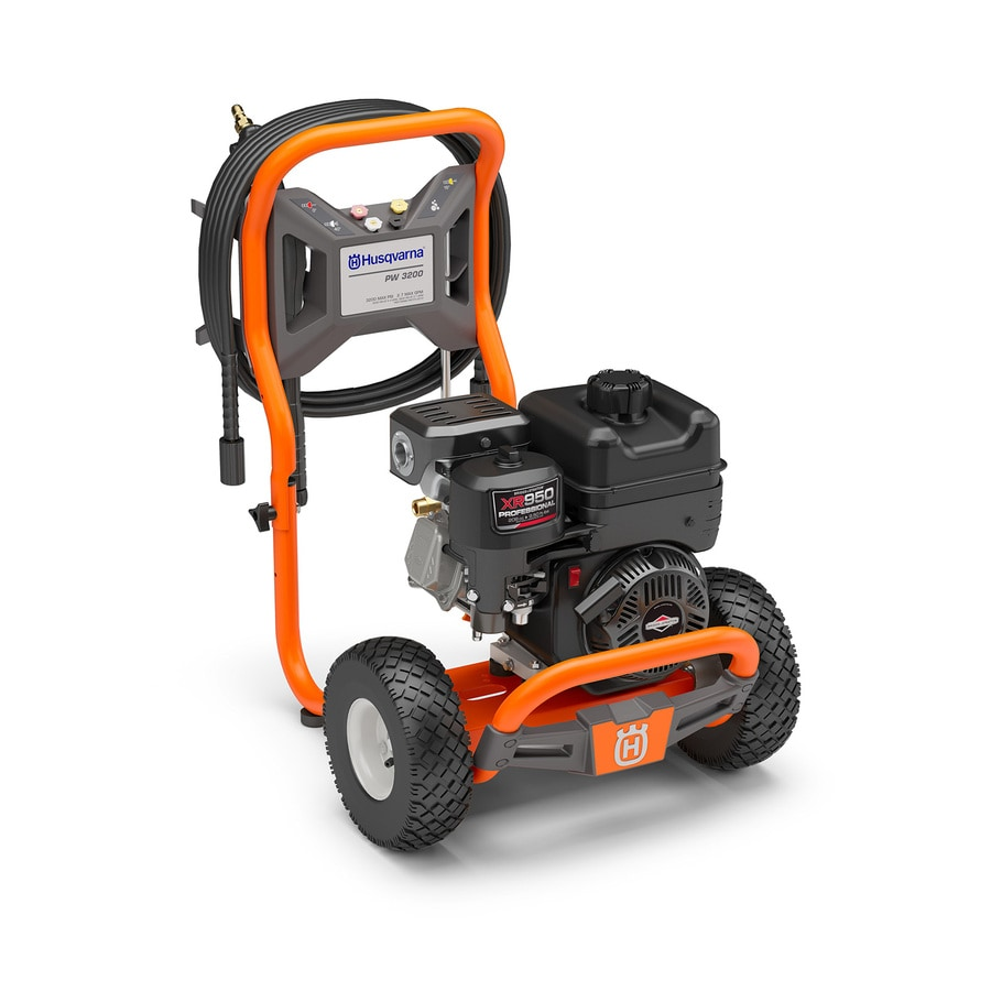 Husqvarna 3200-PSI 2.7 Gallons-Gpm Cold Water Gas Pressure Washer Carb Compliant