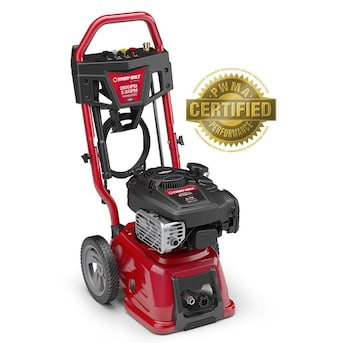 Troy Bilt 2800 Psi 2 3 Gpm Cold Water Gas Pressure Washer With Briggs Stratton Engine Carb In The Gas Pressure Washers Department At Lowes Com