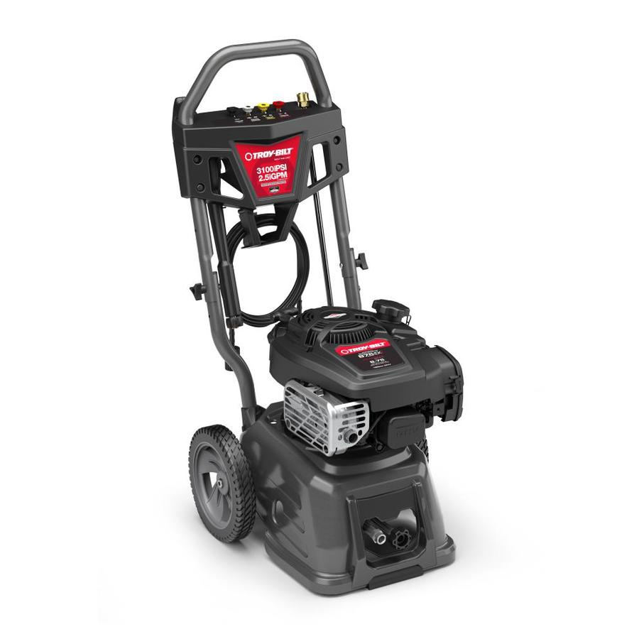 Troy-Bilt 3100-PSI 2.5-GPM Cold Water Gas Pressure Washer CARB
