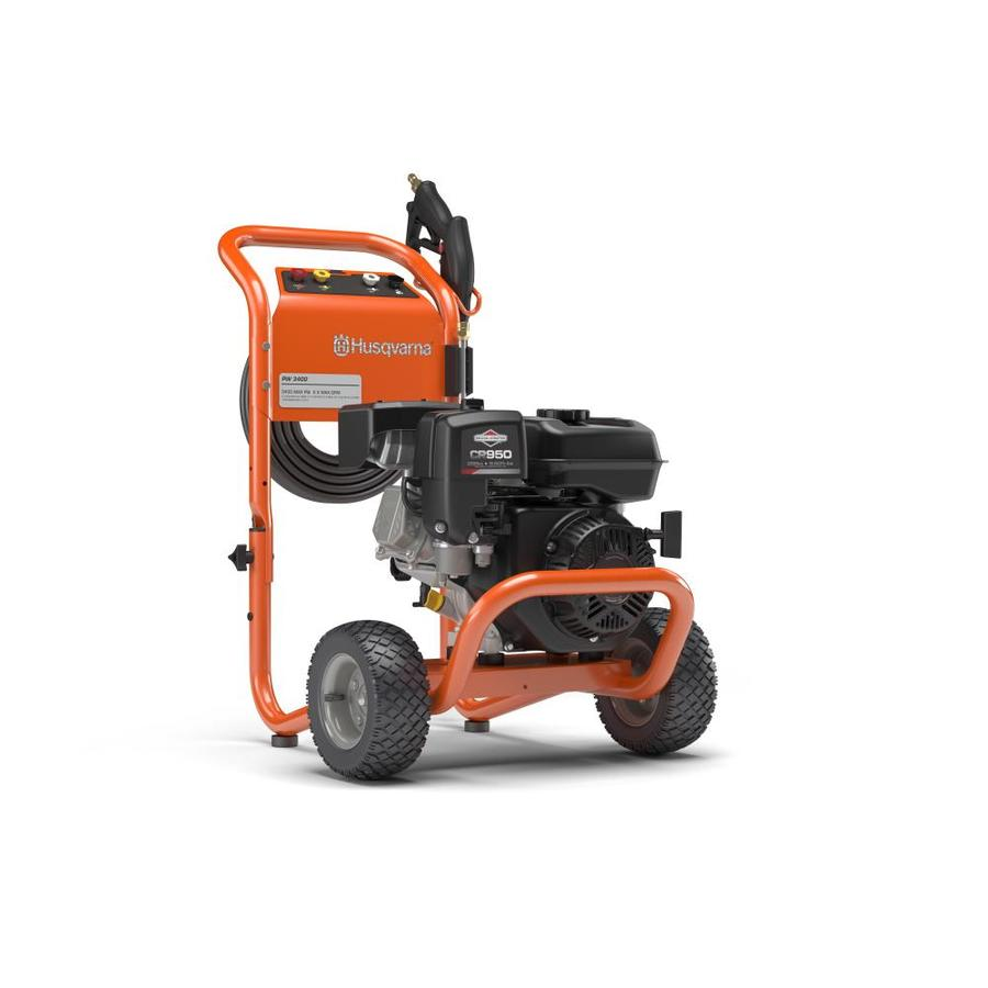 Shop Husqvarna 3400-PSI 2.5-GPM Cold Water Gas Pressure Washer CARB