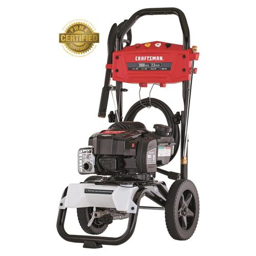 CRAFTSMAN 2800-PSI 2.3-GPM Cold Water Gas Pressure Washer with Briggs & Stratton Engine CARB at Lowes.com