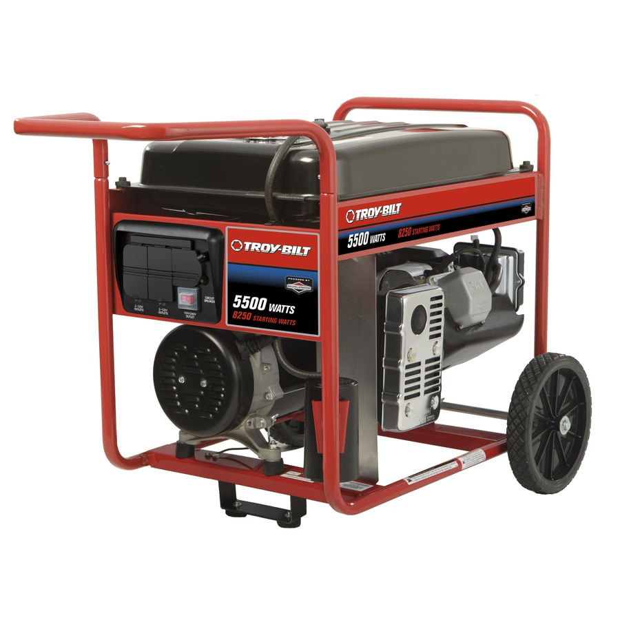 Briggs & Stratton 5,500-Running-Watt Portable Generator with Briggs & Stratton Engine