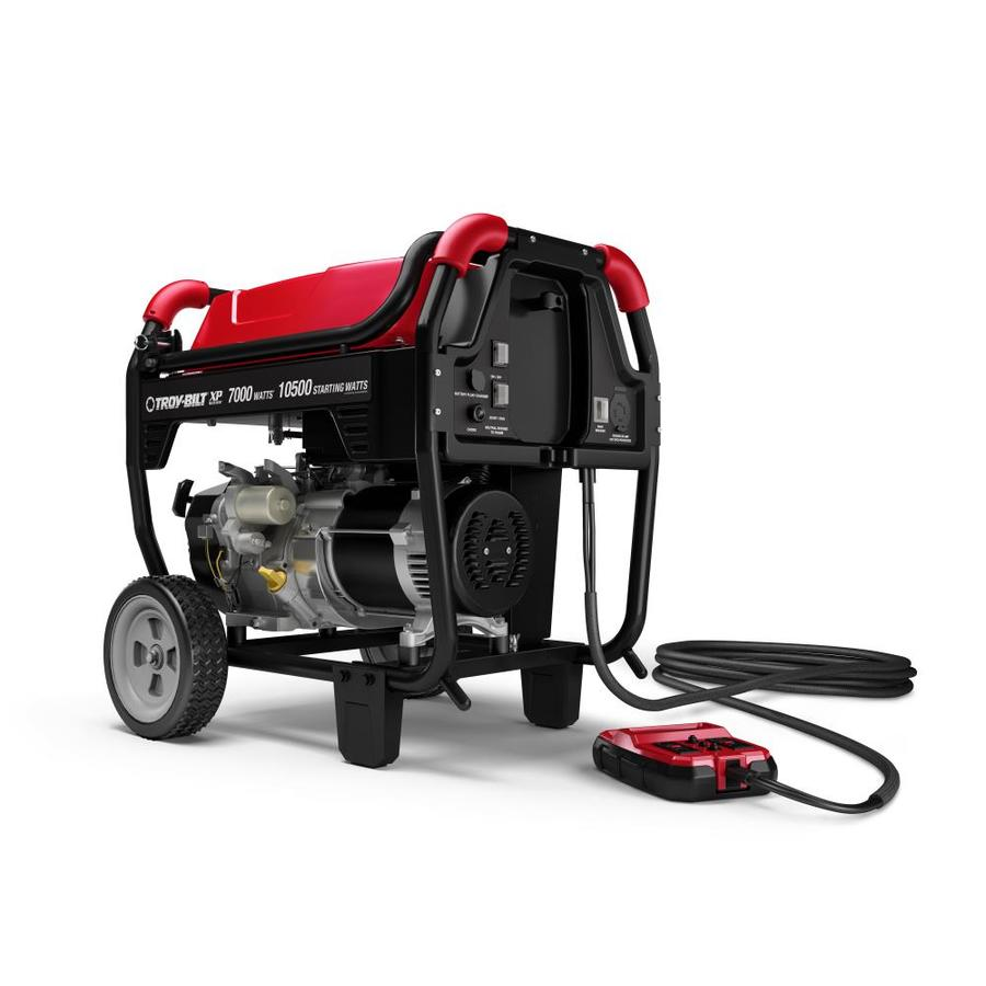 Troy-Bilt XP 7000-Running-Watt Gasoline Portable Generator with