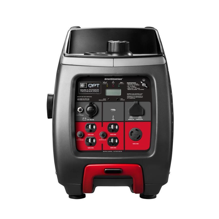Briggs & Stratton PowerSmart 2600-Running-Watt Inverter Portable Generator with Briggs & Stratton Engine
