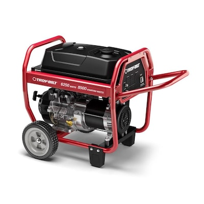 Troy-Bilt 6250-Running-Watt Gasoline Portable Generator with