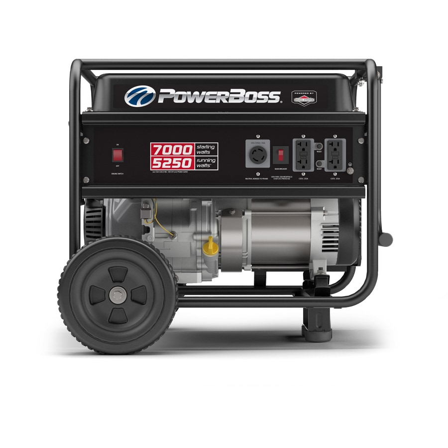 Shop Portable Generators At Craftsman Generator Wiring Diagram Powerboss 5250 Running Watt With Briggs Stratton Engine