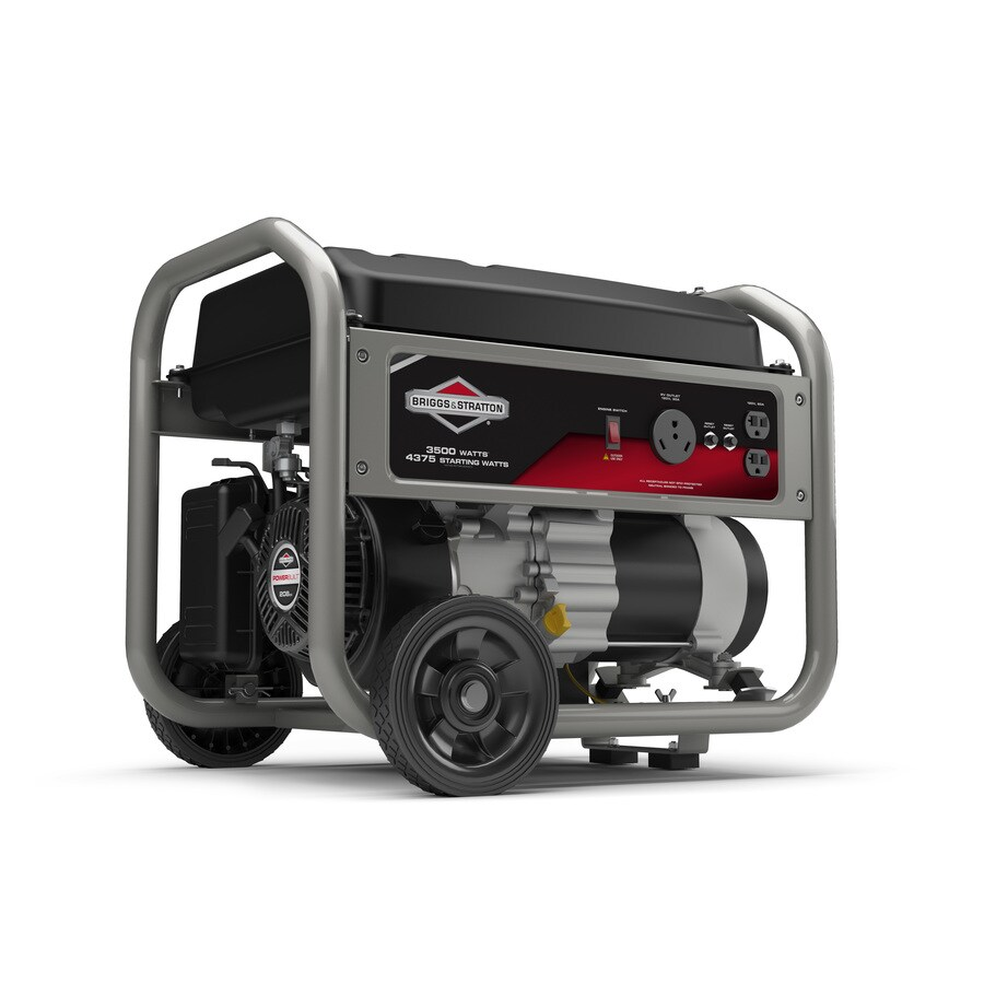 worksheet Generator Wattage Worksheet shop briggs stratton home 3500 running watt portable generator with engine