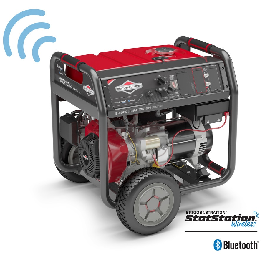 worksheet Generator Wattage Worksheet shop briggs stratton elite 8000 running watt portable generator with engine
