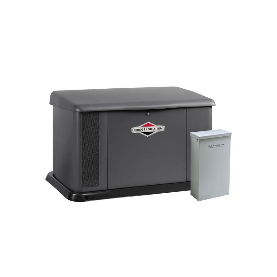 Briggs & Stratton 16000-Watt (LP)/14400-Watt (NG) Standby Generator with Automatic Transfer Switch
