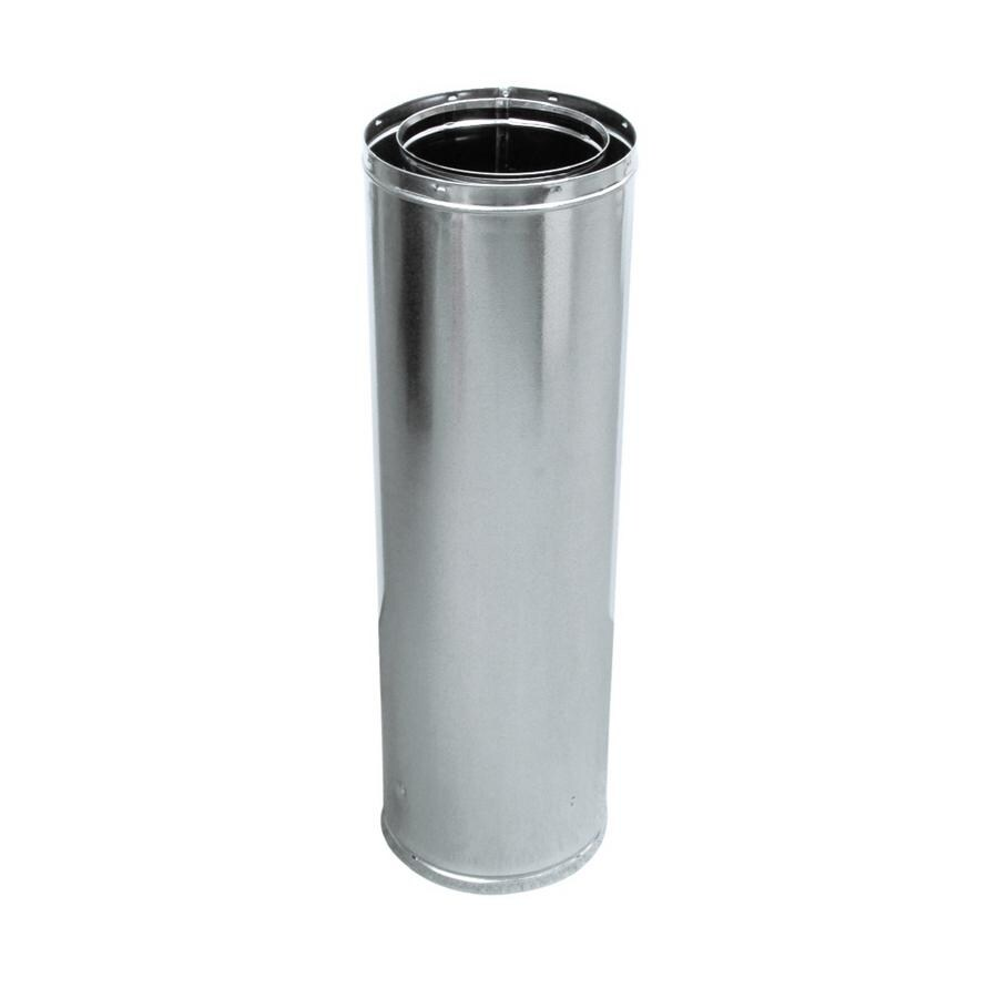 shop majestic 47 5 in l x dia chimney pipe at lowes com