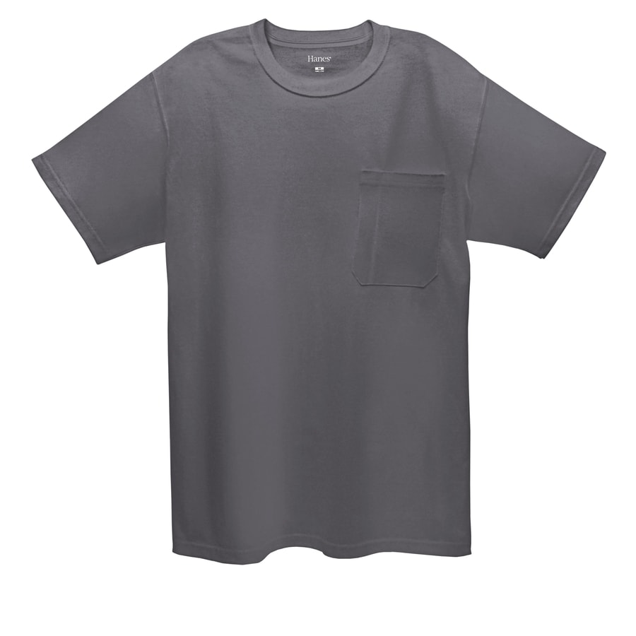 Hanes XX-Large Gray Tagless T-Shirt