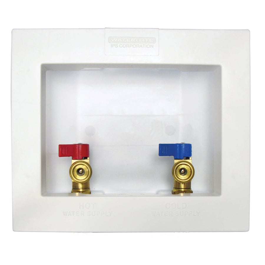 Quarter Turn Ball Valve Pex Washing Machine Outlet Box
