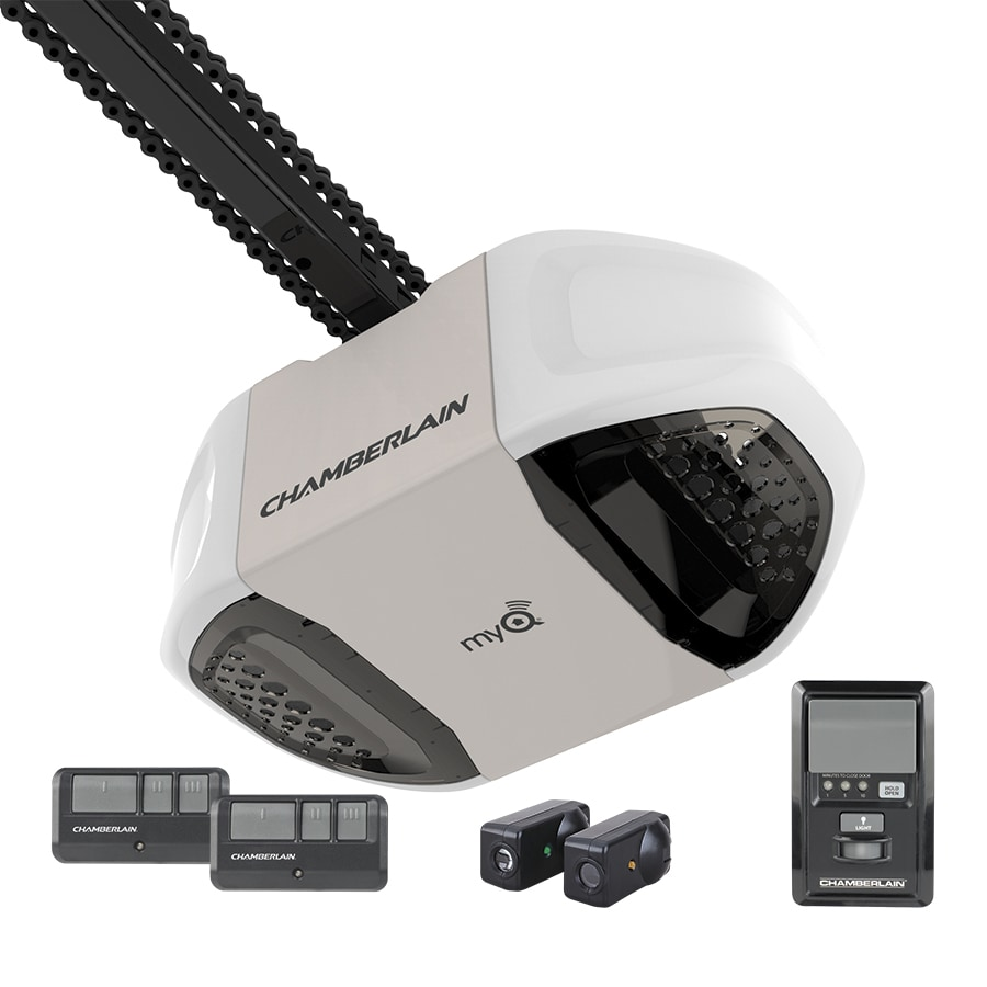 Chamberlain 0 75 Hp Chain Drive Garage Door Opener At