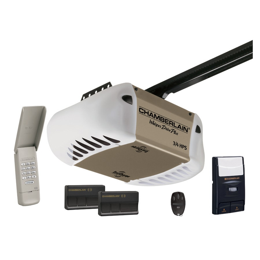 Chamberlain 3/4-HP Belt Drive Garage Door Opener at Lowes com