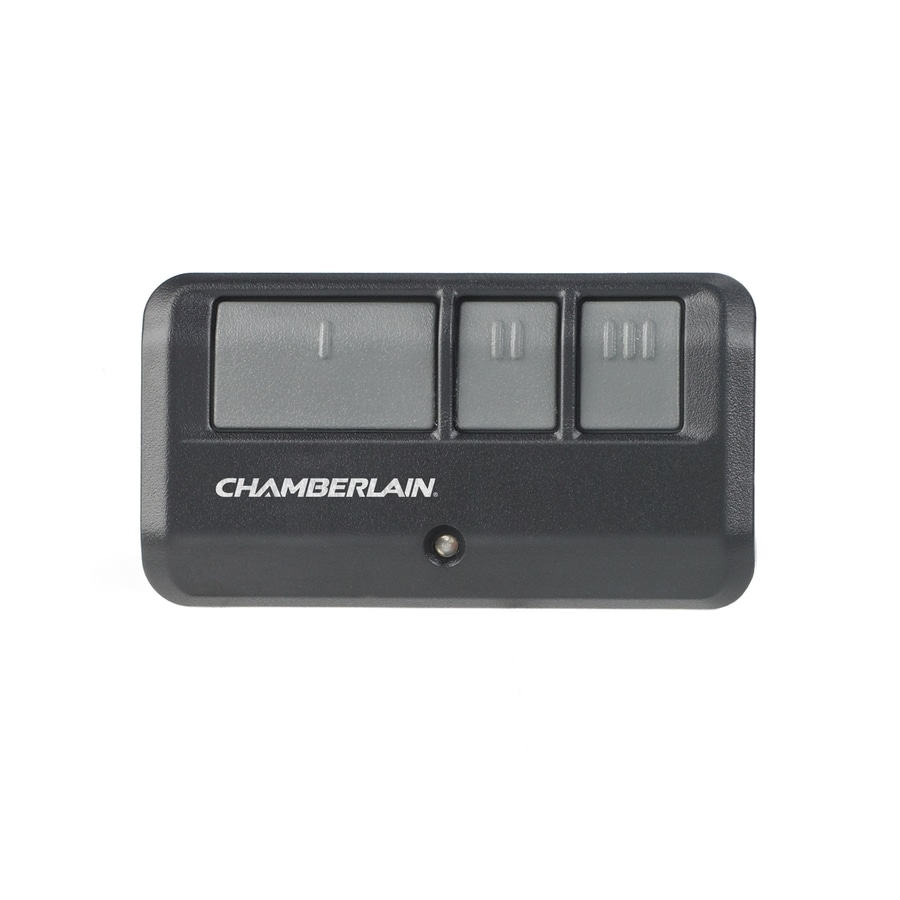 Garage Door Safety Sensor Light Not On: Chamberlain 3-Button Visor Garage Door Opener Remote At