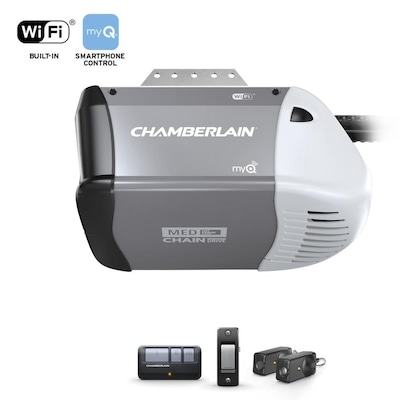 0.5-hp Smart Chain Drive Garage Door Opener Works with MyQ with Built-In on old clock parts, old window parts, old transmission parts, old pickup topper parts, old vacuum pump parts,