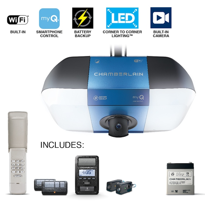 Chamberlain 1.25-HP Secure View And Ultra Bright Smart