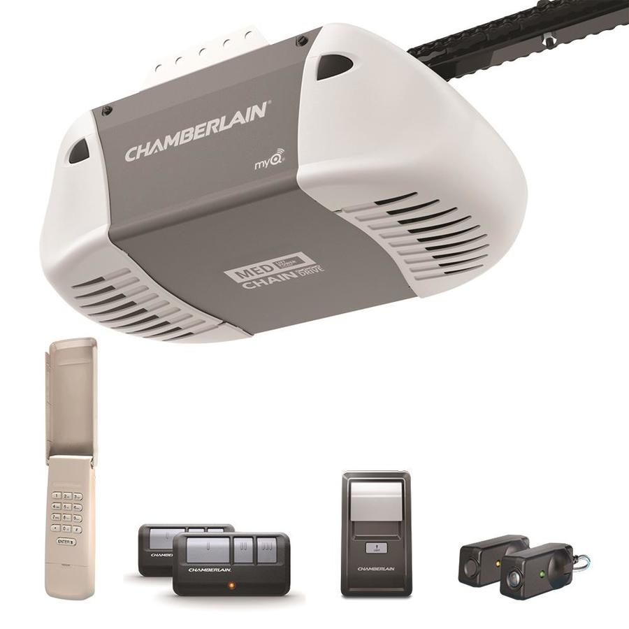 Chamberlain Garage Door Opener Light Keeps Coming On: Shop Chamberlain 0.5 HP Chain Drive Garage Door Opener At