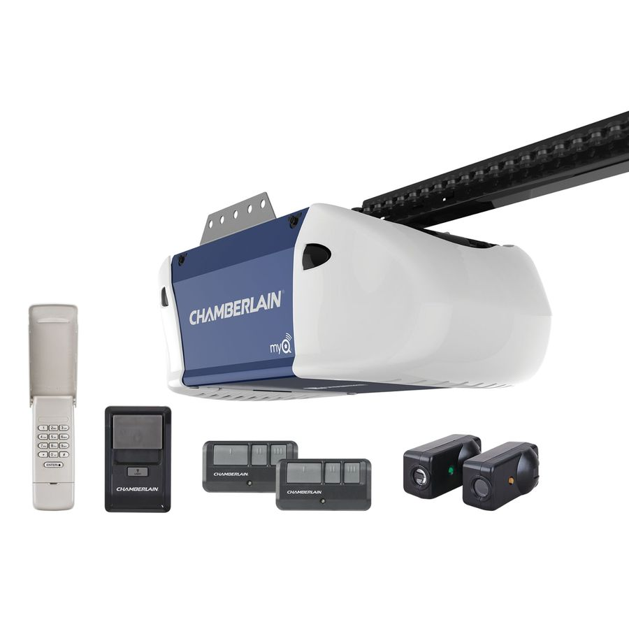 Shop Chamberlain 0 5 Hp Chain Drive Garage Door Opener At