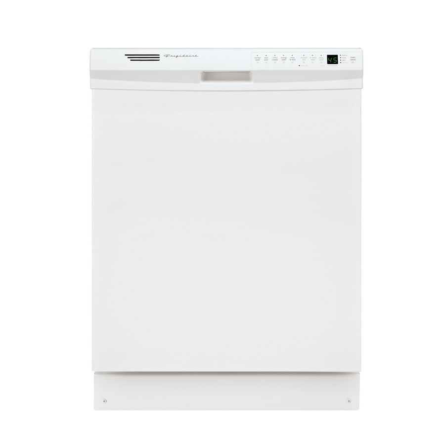 Frigidaire 55-Decibel Built-In Dishwasher and Hard Food Disposer (White) (Common: 24-in; Actual: 24-in) ENERGY STAR