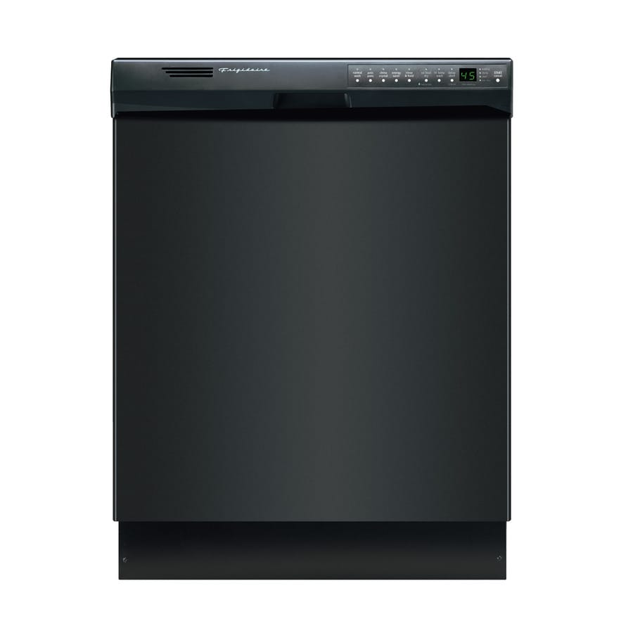 Frigidaire 55-Decibel Built-in Dishwasher with Hard Food Disposer (Black) (Common: 24-in; Actual: 24-in) ENERGY STAR