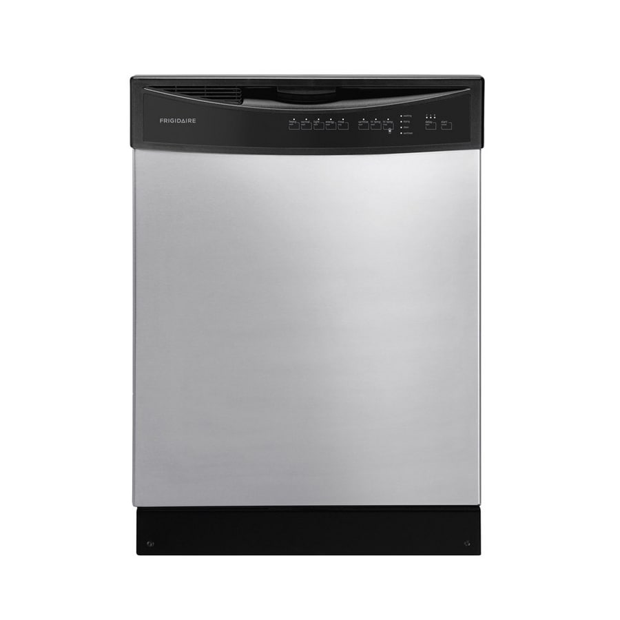 Frigidaire 55-Decibel Built-in Dishwasher with Hard Food Disposer (Silver Mist) (Common: 24-in; Actual 24-in) ENERGY STAR