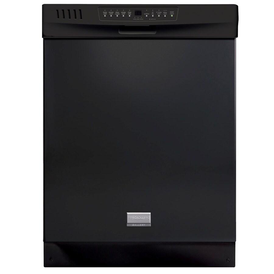 Frigidaire 24 In Black Built In Dishwasher: Frigidaire Gallery 24-in 53-Decibel Built-In Dishwasher