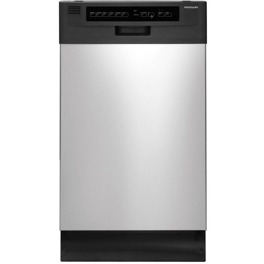 Frigidaire 55-Decibel Built-In Dishwasher (Stainless steel) (Common: 18-in; Actual: 17.625-in) ENERGY STAR