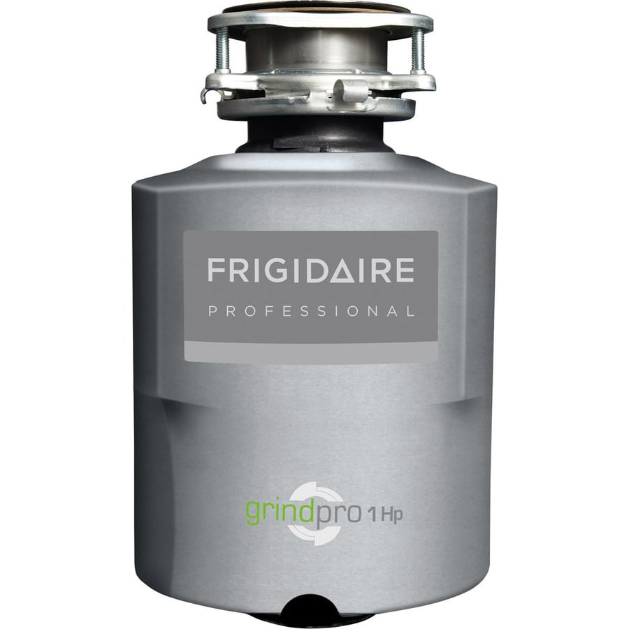 Frigidaire Professional 1-HP Continuous Feed Noise Insulated Garbage Disposal