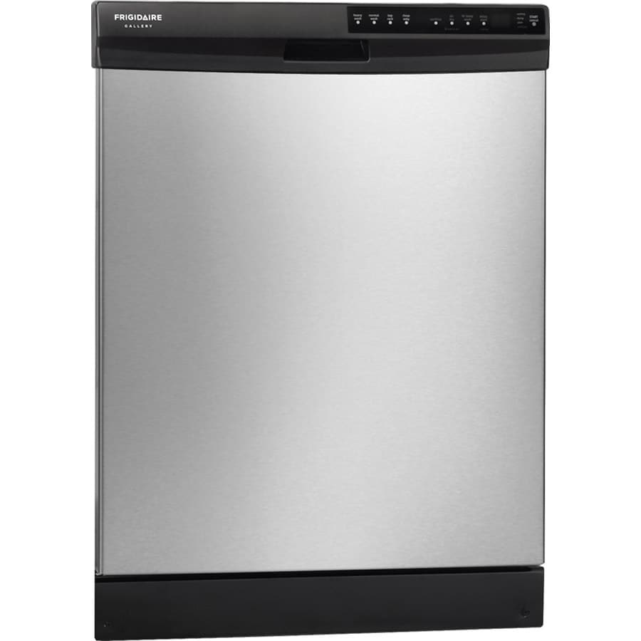 Frigidaire Gallery 2445 Series 54-Decibel Built-in Dishwasher with Hard Food Disposer (Stainless Steel) (Common: 24-in; Actual: 24-in)